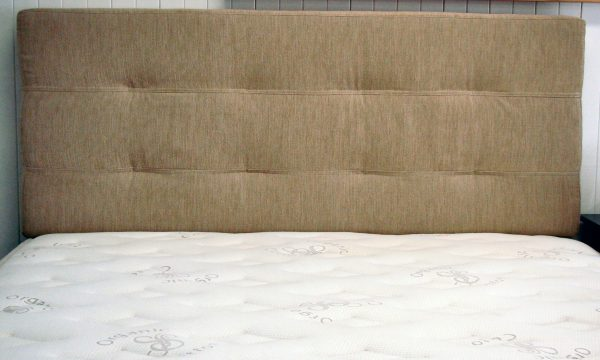 False Button Upholstered Bed Head